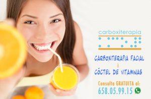 Carboxiterapia Facial o Coctel Vitaminas para el Rostro