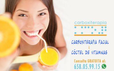 Carboxiterapia Facial o Coctel de Vitaminas para el Rostro