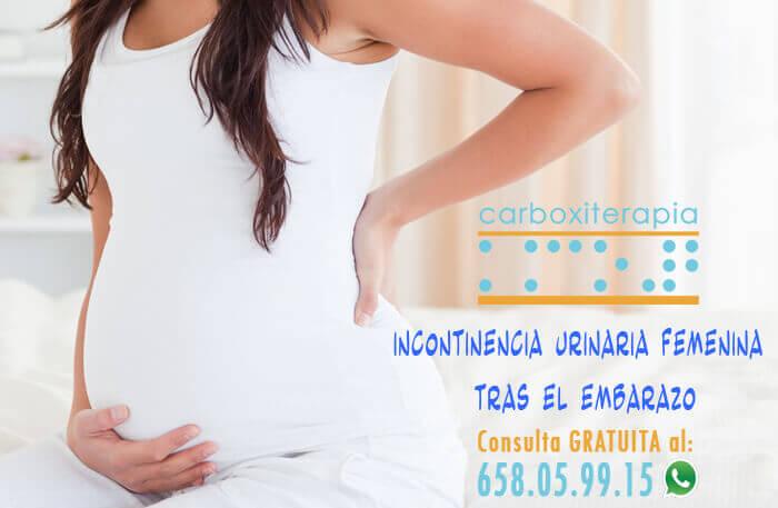 Carboxiterapia e Incontinencia Urinaria Femenina tras el Embarazo