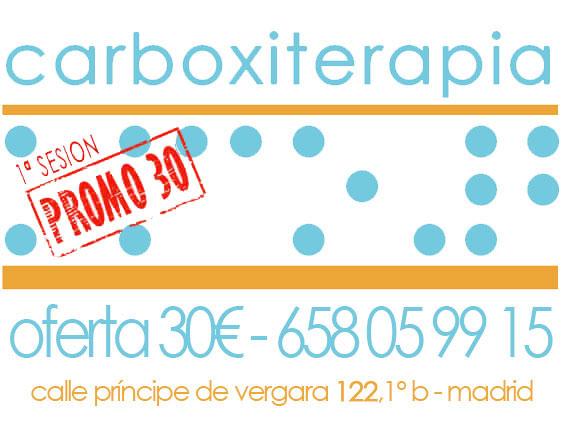 Carboxiterapia Ofertas Madrid 30€ - 1ª Sesion